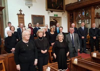 Palm Sunday choir 2019